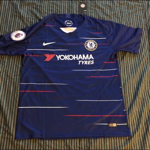 finest selection 6aa1d 27a79 Nike Eden Hazard #10 Chelsea Home Soccer Jersey